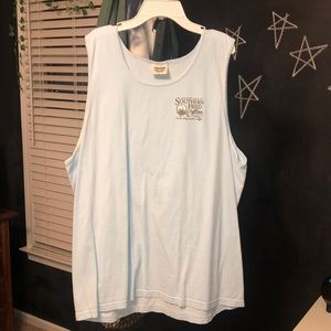 southern fried cotton t shirt tank